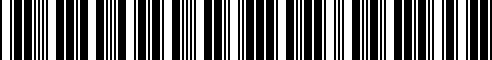 Barcode for G6950-5CV0A